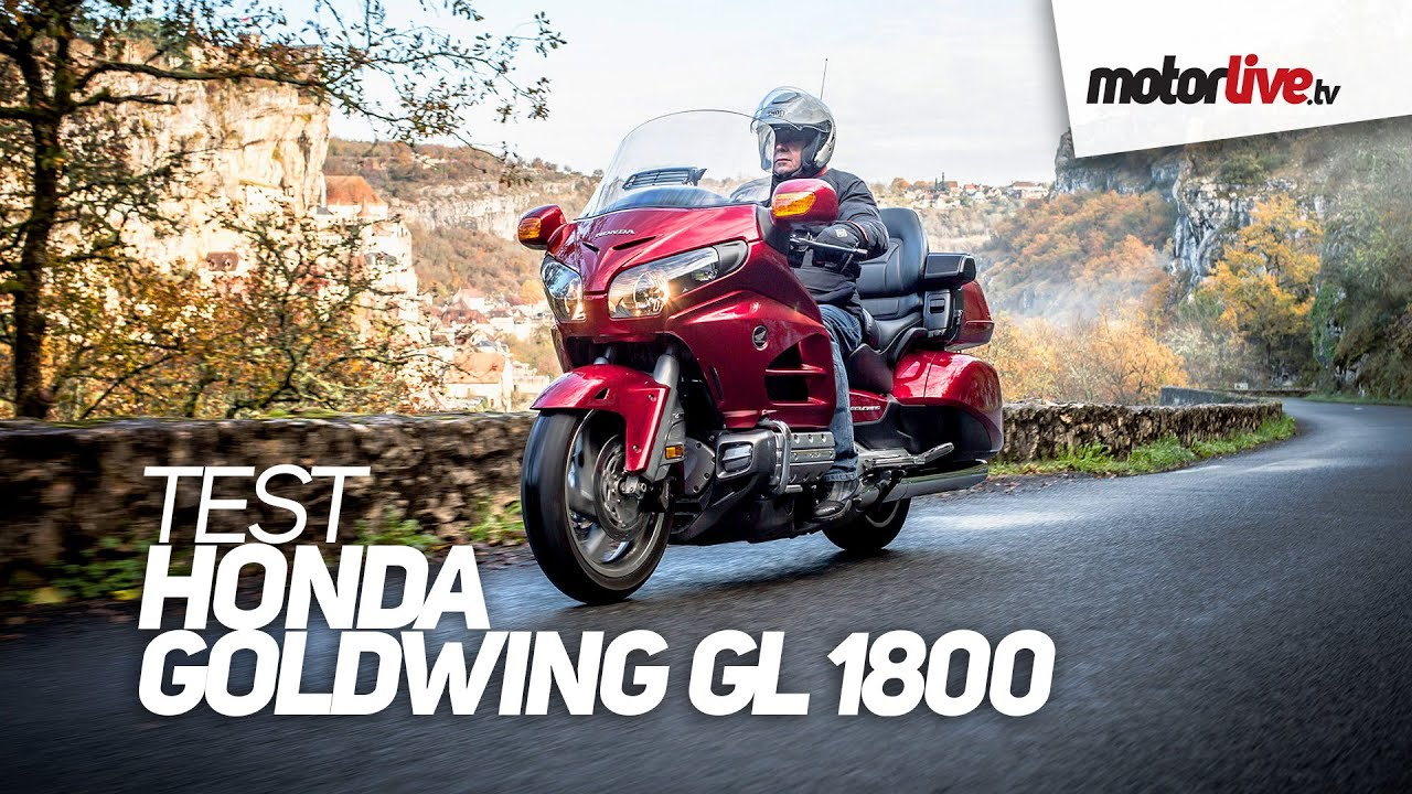画像: TEST | HONDA GL 1800 GOLDWING youtu.be