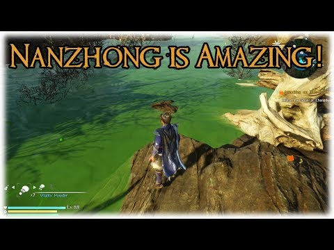 Dynasty Warriors 9   Cao Xiu Ep.32   Nanzhong is the best view in game! [PS4 Gameplay/Commentary]