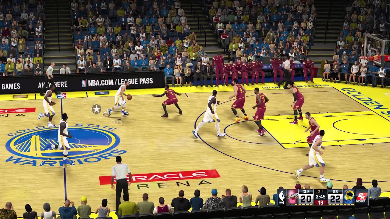 Cleveland Cavaliers - Golden State Warriors | NBA 2K15 PC - YouTube