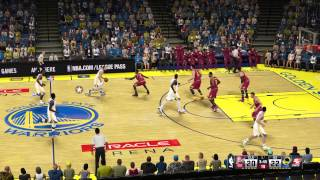 Cleveland Cavaliers - Golden State Warriors | NBA 2K15 PC