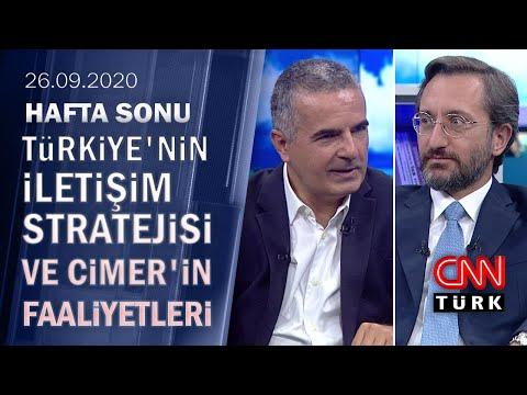Cumhurbaşkanlığı İletişim Başkanı Fahrettin Altun merak edilenleri anlattı - Hafta Sonu 26.09.2020