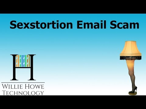 Sexstortion Email Scam