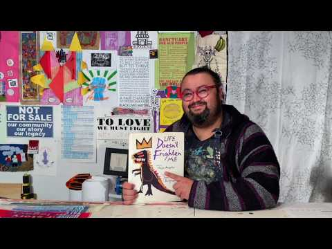 Arte With Maestro William - Episode 1 - Life Doesn't Frighten Me Read Aloud - Spanish