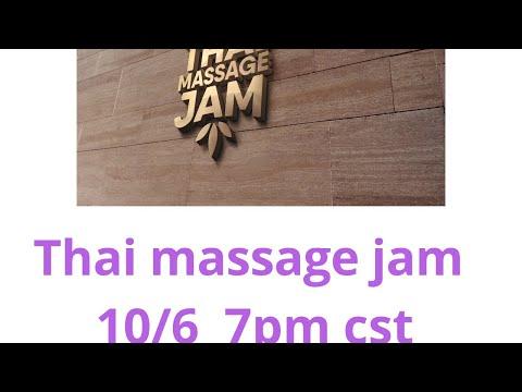 Thai Massage Jam® 10/6/2020 Upper Back Mat Based Thai Massage