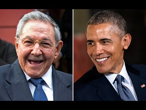 President Obama in Cuba Hisoric Press Conference with Raul Castro FULL
