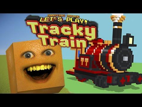 Annoying Orange Plays - Tracky Train |