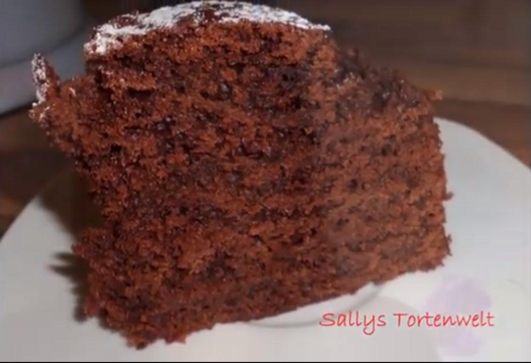 Sallys Zarter Schokokuchen Bester Schokoladenkuchen Youtube