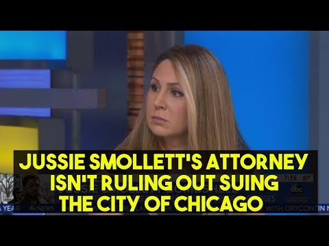 Jussie Smollett's Attorney Isn't Ruling Out Suing The City Of Chicago