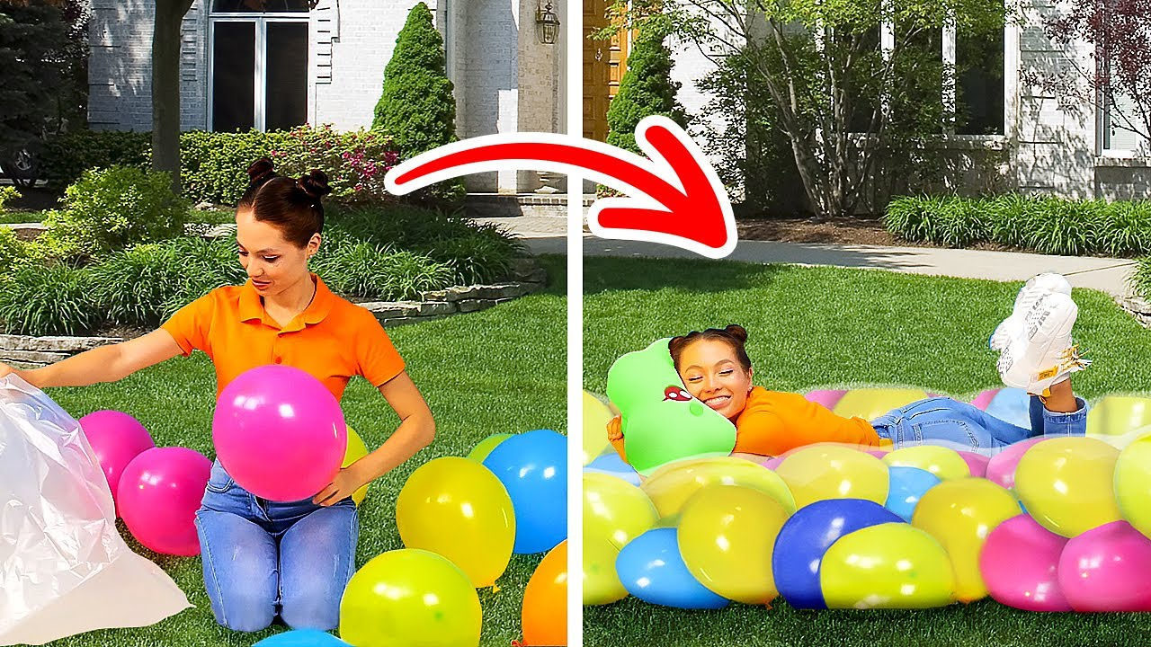 TOP 30 BALLOON HACKS AND CRAFTS FOR EVERYDAY LIFE
