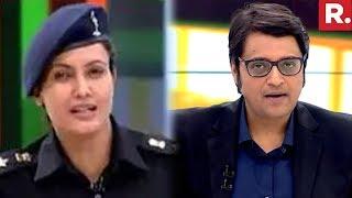 arnab goswami angry