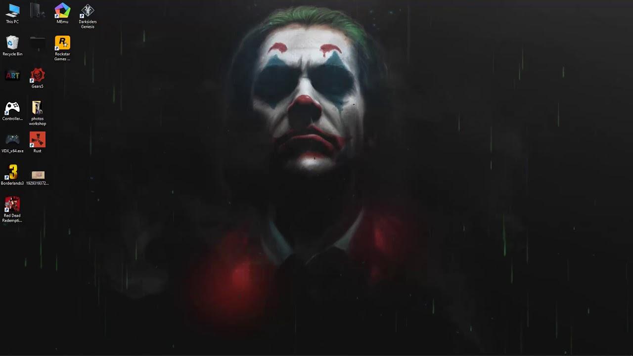 joker live wallpaper free download - YouTube