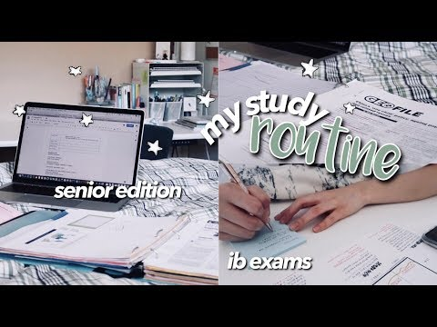 MY STUDY ROUTINE ☆ Back To School 2019