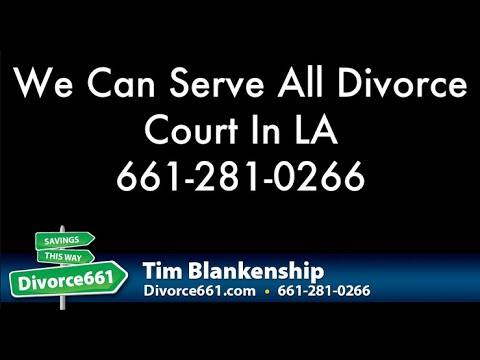 We Can Serve Every Divorce Court In Los Angeles County | San Fernando Divorce