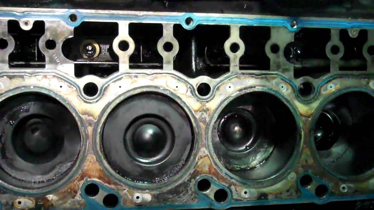 Vt 365 Cylinder Head Install Youtube