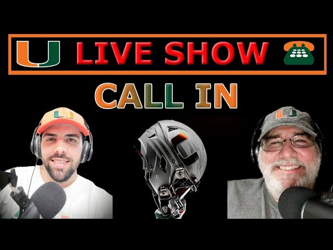 Miami Hurricanes Football LIVE (Recruiting Updates/Taking Calls)