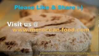 Video Moroccan Pita Recipe - Mkhamer - Batbout - Toghrift - Matlou