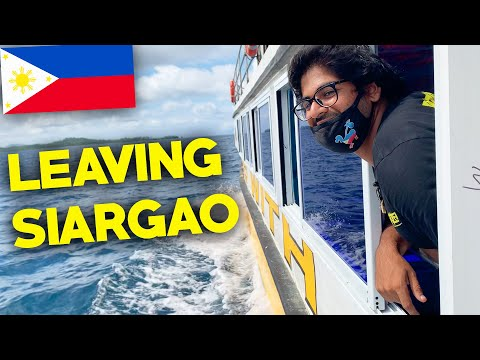 IM LEAVING SIARGAO! 🇵🇭 - Pandemic Travel in the Philippines