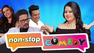 Non Stop Comedy : Bharti Singh With krushna , Jasmin , Harsh - Indian Comedy Show