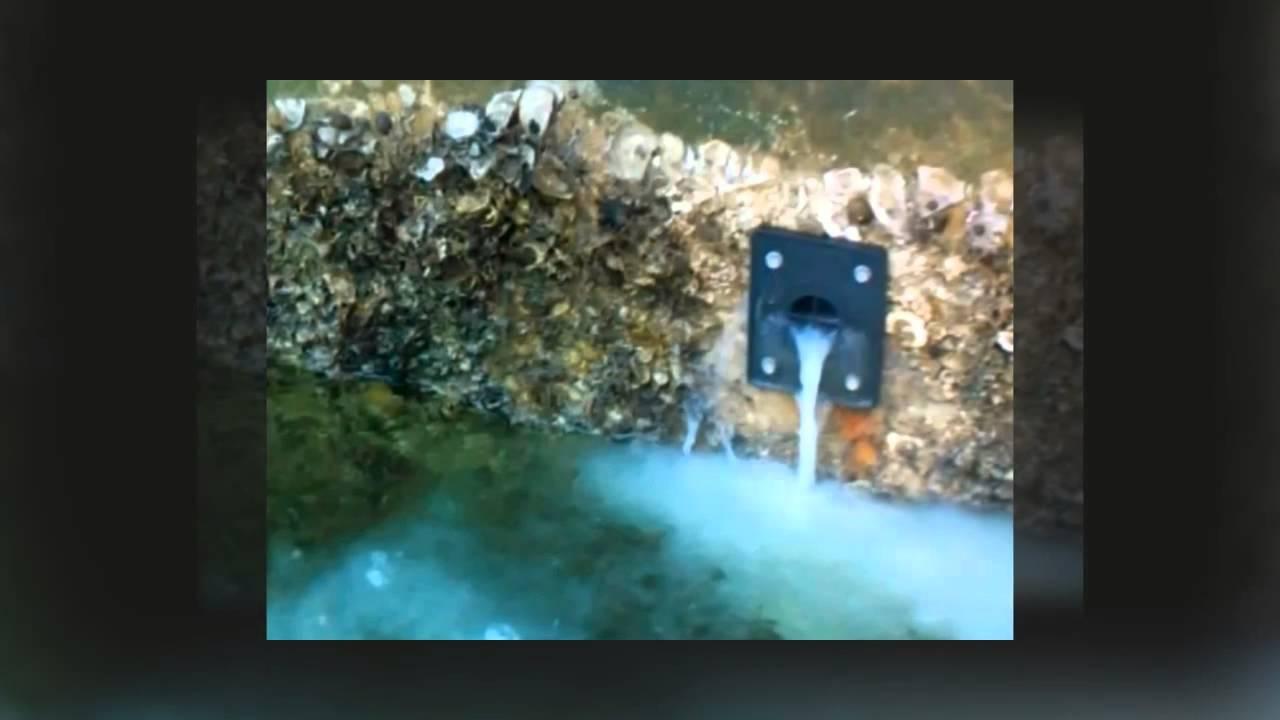 Concrete Seawall Repair North Miami Beach Florida Youtube