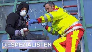 Hochgiftiges Graffiti: Säure frisst sich tief in die Haut | Die Spezialisten | SAT.1 TV