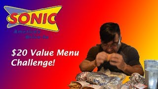 Video Sonic $20 Value Menu Challenge! download MP3, 3GP, MP4, WEBM, AVI, FLV Juli 2018