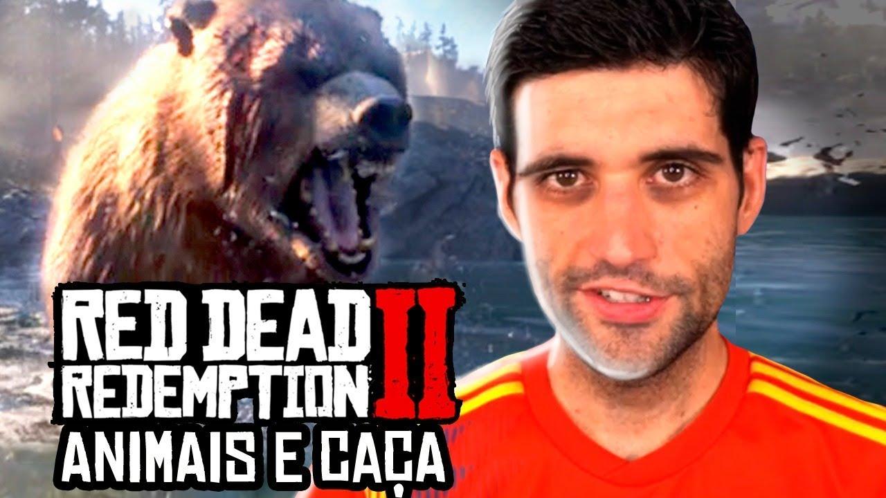 Os ANIMAIS e a caça em Red Dead Redemption 2, mais de 200 ESPÉCIES