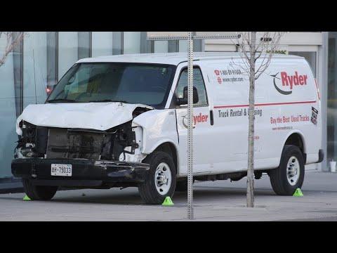 Canada : une camionnette fauche plusieurs piétons à Toronto, le chauffeur arrêté
