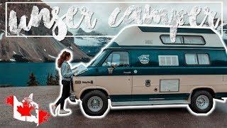 DAS ist UNSER CAMPER ∙ KANADA ROADTRIP beginnt ∙ Weltreise Vlog #76