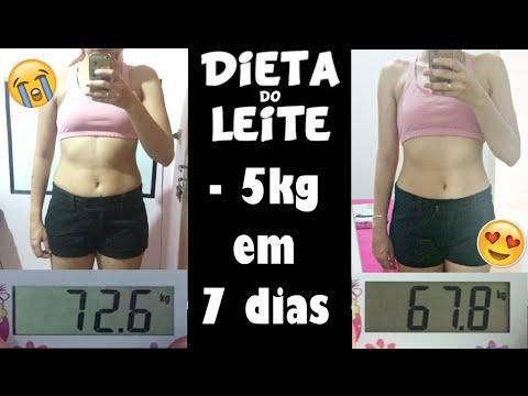 Dieta de emergencia 6 kg em 5 dias