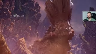 Monster Hunter: World #4 - Pustynia, Barroth [BOSS]