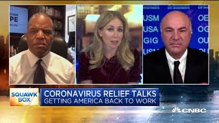 Kevin O'Leary and John Hope Bryant debate bailing out small businesses during the crisis