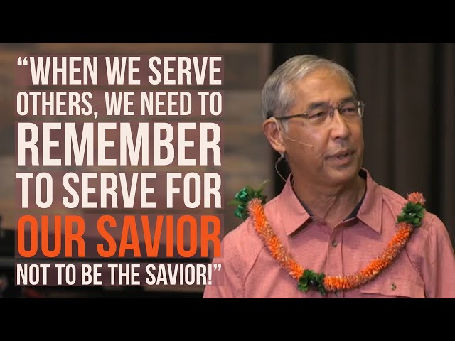 Kaimuki Christian:  Pastor Cal Takara shares a message about Servitude and how it Changes You.