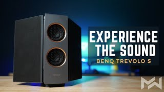 Hear the DIFFERENCE - BenQ treVolo S Electrostatic Bluetooth Speaker Review & Sound Test