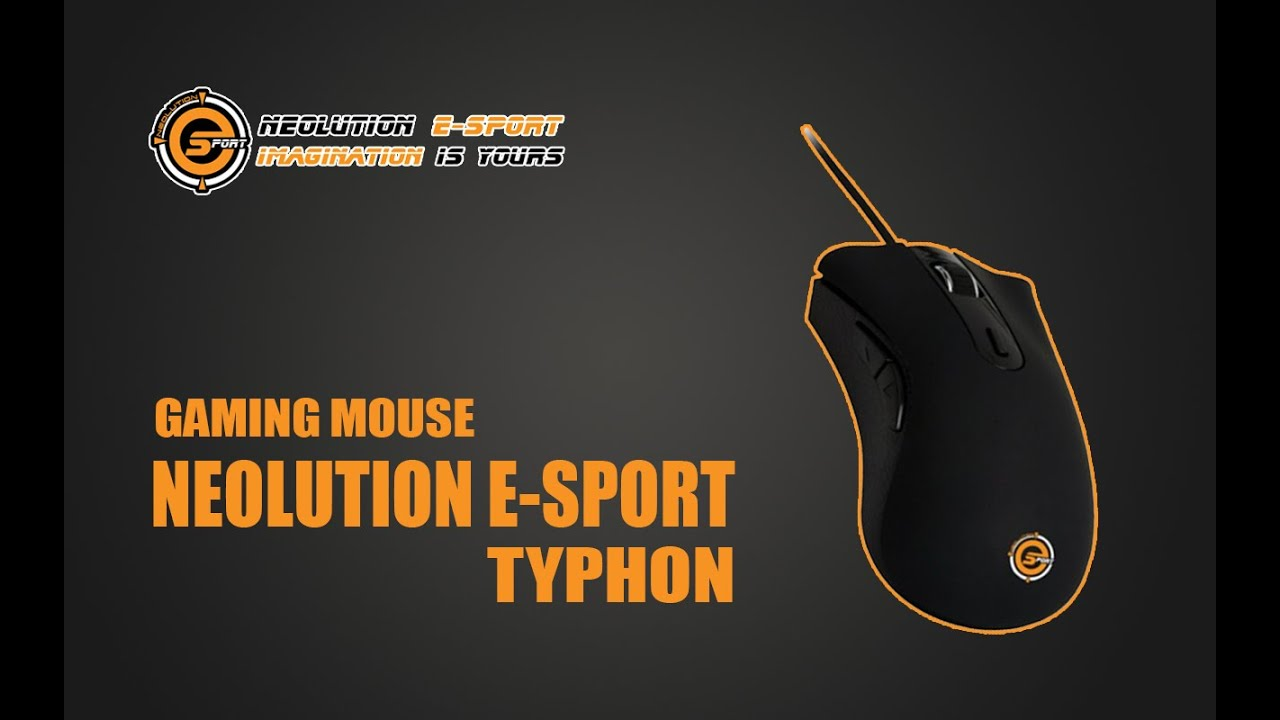 Gaming Gear Unboxing Neolution E Sport Typhon