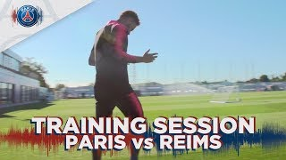 TRAINING SESSION - PARIS vs REIMS with Neymar & Thiago Silva