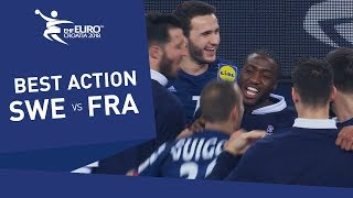 Highlights | Sweden vs France | Men's EHF EURO