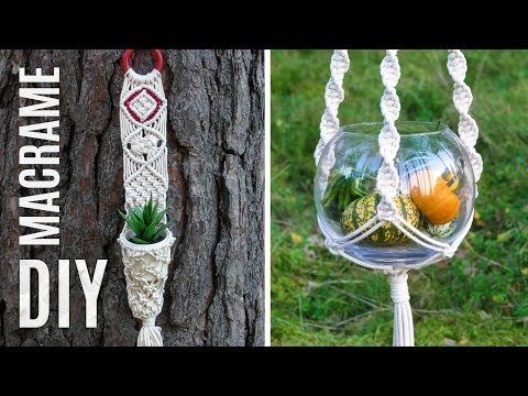 diy-macrame-wall-hanger-plant-hanger-|-easy-crafts