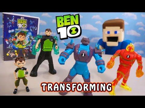BEN 10 Transforming Action Figures 2019 In Wave 3