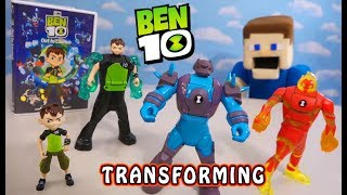 BEN 10 Transforming Action Figures 2019 CONTEST! Wave 3