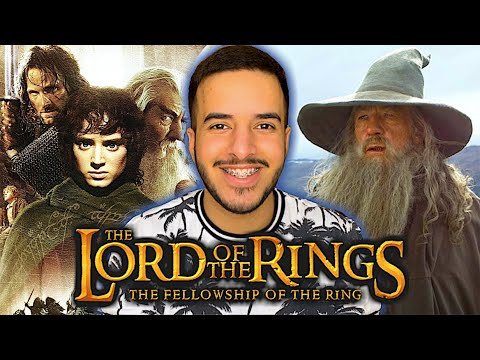 WATCHING LORD OF THE RINGS FOR THE FIRST TIME: THE FELLOWSHIP OF THE RING