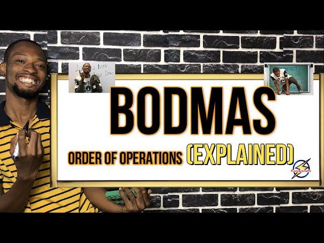 Mathematics: BODMAS
