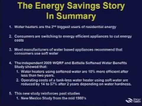ETS 2010 | Benefits Of Removal Of Water Hardness From A Water Supply - Part 3
