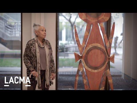 Betye Saar on Ceremonial Board /// Artists on Art