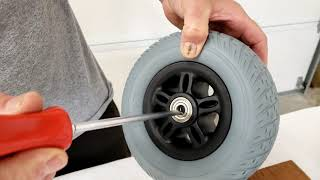 Wide Front Wheel Replacement