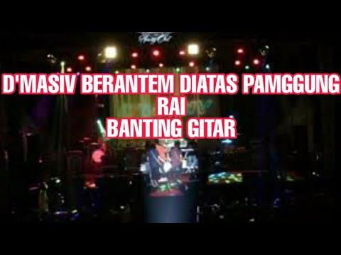 VIDIO LENGKAP RIAN DAN RAI D'MASIV BERANTEM DI PANGGUNG LOMBOK