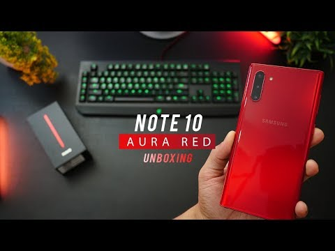 galaxy-note-10-(aura-red)---unboxing,-color-review-&-first-impressions