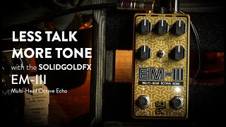 SolidGoldFX EM-III Multi-Head Octave Echo Demo