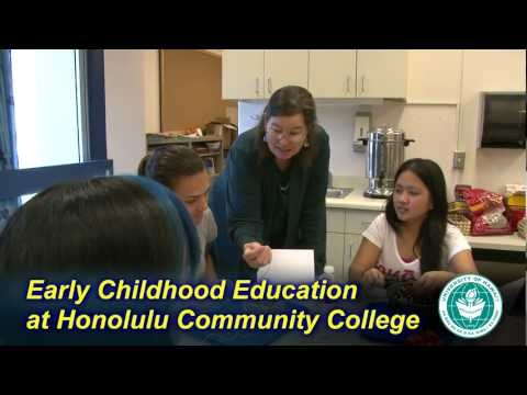 Early Childhood Education at Honolulu Community College