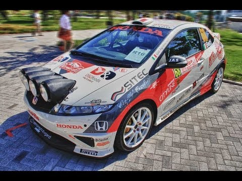 2008 honda civic type r r3 youtube for Honda civic rally car