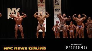 2018 IFBB NY Pro Bodybuilding Prejudging  Video